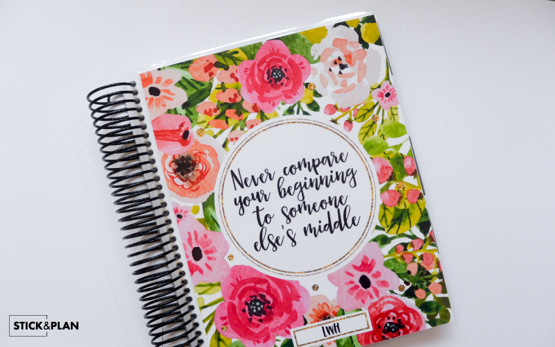 How you can make your own Cover for your Erin condren cover. Diy Erin Condren Cover